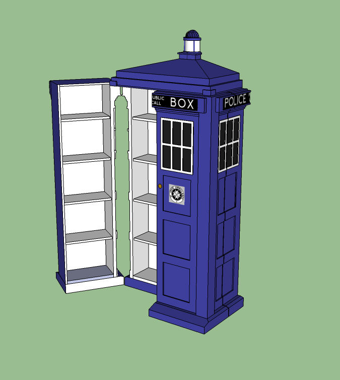 Tardis Sketchup Galleryhipcom The Hippest Galleries