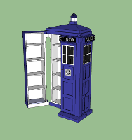 TARDIS media case build dairy